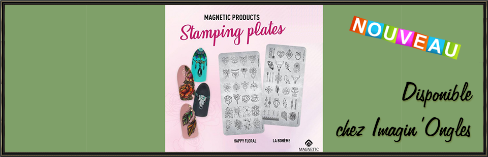 Imagin'Ongles by Ninie - Magnetic Stamping