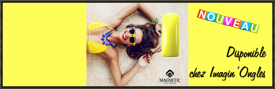 Imagin'Ongles by Ninie - Magnetic Yellow